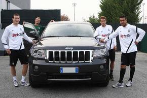 Juventus Torino primeşte o flotă de Jeep Grand Cherokee
