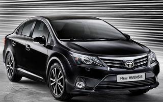 Toyota Avensis facelift a intrat în producţie
