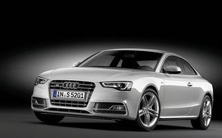 Audi renunţă la transmisiile manuale pentru S4 şi S5