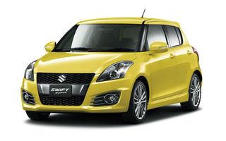 Suzuki Swift Sport cu cinci uşi debutează la Tokyo