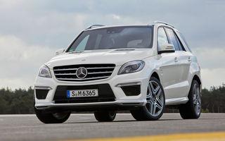 Mercedes ML 63 AMG - informaţii şi fotografii oficiale