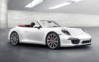 Porsche 911 Cabrio - imagini şi informaţii oficiale