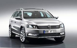 Volkswagen Passat Alltrack - primele imagini şi informaţii oficiale