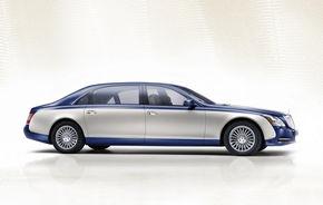 Asamblarea modelelor Maybach va fi oprită în 2013