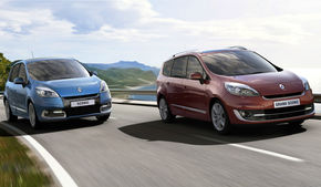 Renault Scenic şi Grand Scenic au primit un facelift