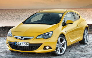 Opel GTC Astra, în România de la 18.990 euro