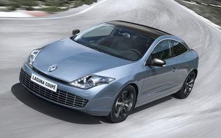 Renault Laguna Coupe facelift: LED-uri şi câteva modificări subtile