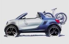 Smart For-us, conceptul unui pick-up mini vine la Detroit