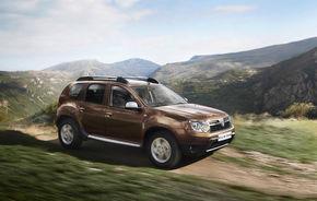 Dacia Duster este cel mai bine vândut SUV al anului în Spania şi în Franţa