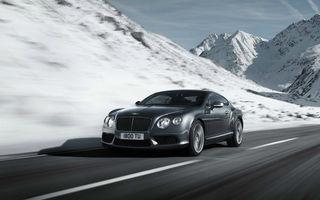 Bentley Continental GT V8, prezentat înainte de debutul de la Detroit