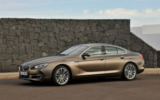 BMW Seria 6 Gran Coupe, în România de la 83.576 euro