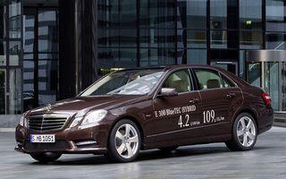 Mercedes E300 BlueTec Hybrid, dieselul ce consumă 4.2 l/100 km