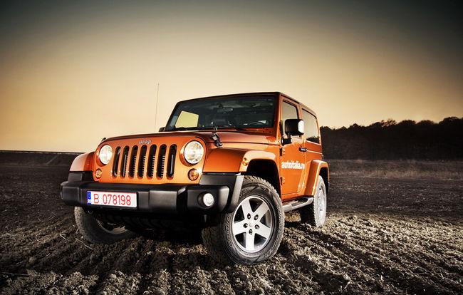 Test drive Jeep Wrangler (2011-prezent)