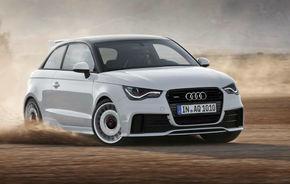 Audi A1 quattro - 256 CP pe cea mai puternică versiune A1