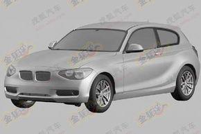 Primele schiţe ale viitorului BMW Seria 1 cu 3 uşi