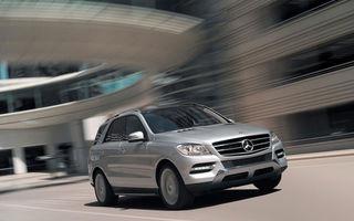 Mercedes a atins 2 milioane de SUV-uri vândute în toată istoria sa