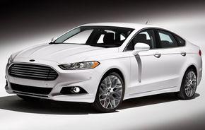 Noul Ford Mondeo, prezentat în SUA sub numele Fusion