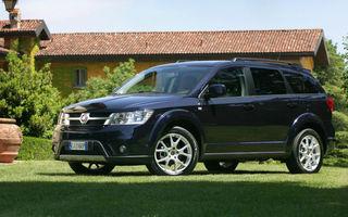 Fiat Freemont, în România de la 27.250 euro