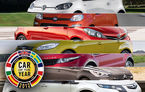 OFICIAL: Panda, Up, Evoque, DS5, Focus, Yaris şi Ampera/Volt sunt finaliştii Car of the Year 2012