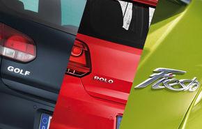 Top 10 mărci şi modele auto vândute în Europa