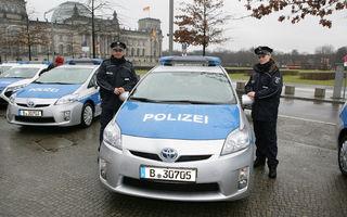 """Toyota Prius va face parte din flota """"verde"""" a poliţiei din Berlin"""