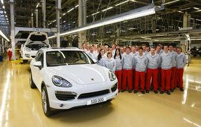 A doua generaţie Porsche Cayenne a fost produsă în 100.000 de exemplare