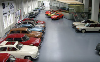 Saab îşi salvează istoria: maşinile sale de colecţie nu vor fi vândute