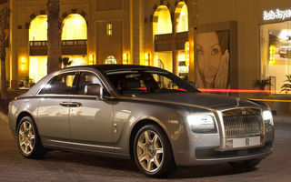 Rolls Royce: una din două limuzine Ghost este personalizată