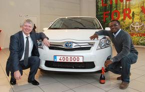 Toyota Europe a livrat hibridul cu numărul 400.000 în Europa