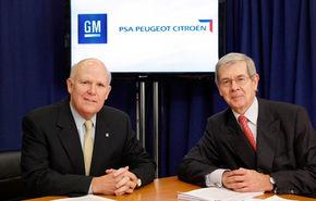 OFICIAL: Alianţă GM - PSA Peugeot Citroen