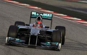 Presă: Monopostul Mercedes, mai rapid decât Red Bull în regim de cursă
