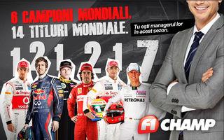 F1 Champ 2012 - Au început înscrierile! Câştigă o excursie la Hungaroring!