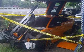 Lamborghini Murcielago SuperVeloce, distrus într-un accident din Indonezia