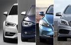 ANALIZĂ: Bătaie în clasa compactă premium - Audi A3 vs. BMW Seria 1 vs. Volvo V40 vs. Mercedes A-Klasse