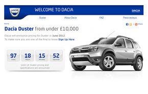 """Dacia se lansează în Anglia: """"Uitaţi de noul BMW Seria 3, e mai importantă lansarea Dacia!"""""""