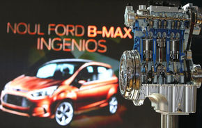 Ford B-Max s-a lansat în România la un preţ special: 13.400 de euro
