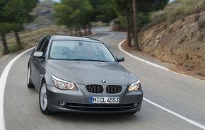 BMW recheamă în service 1.3 milioane de exemplare Seria 5 şi Seria 6
