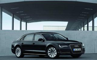 Audi A8 Hybrid: 245 CP şi 6.3 litri la sută