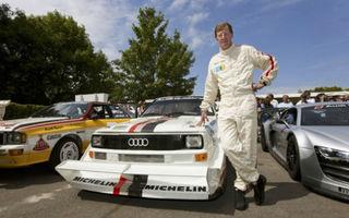 Walter Rohrl se întoarce la Pikes Peak cu Audi Sport Quattro S1