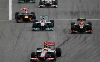 Cinci echipe negociază cu FIA reducerea costurilor în F1