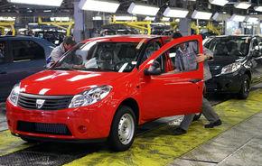 Dacia opreşte producţia la Mioveni timp de două zile