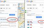 Google Maps a reactivat funcţia de estimare a timpului de călătorie în funcţie de trafic
