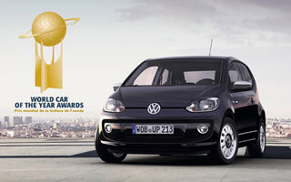 OFICIAL: Volkswagen Up! a câştigat World Car of the Year 2012