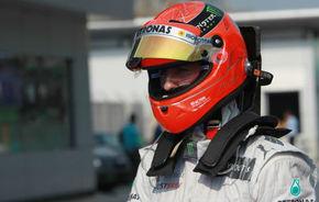 Schumacher speră să aibă mai mult noroc în China