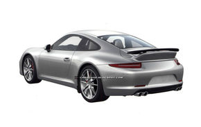 Primele imagini ale pachetelor Aerokit Cup şi SportDesign pentru Porsche 911