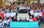 Toyota a început în Franţa producţia noului Yaris Hybrid