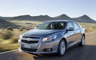 Europa: Cotă de piaţă record pentru Chevrolet în primul trimestru al anului
