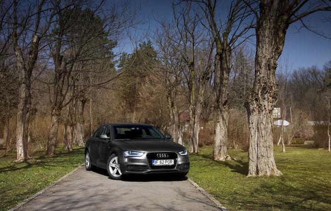 Test drive Audi A4 facelift (2012-2015)