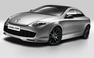Renault Laguna Coupe primeşte motorul 1.5 dCi de 110 CP