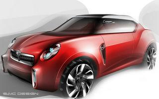 MG Icon Concept, primul SUV al mărcii, debutează la Beijing